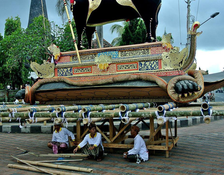 ngaben Ida I Dewa Agung Istri Putra ratu klungkung58