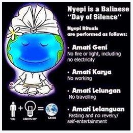 What is Nyepi