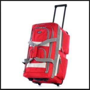 Olympia Luggage 26 8 Pocket Rolling Duffel Bag2
