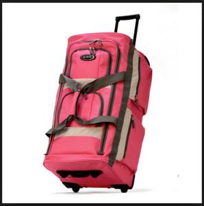 Olympia Luggage 26 8 Pocket Rolling Duffel Bag3