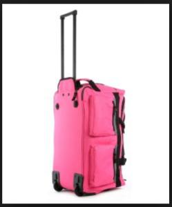 Olympia Luggage 26 8 Pocket Rolling Duffel Bag5