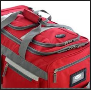 Olympia Luggage 26 8 Pocket Rolling Duffel Bag6