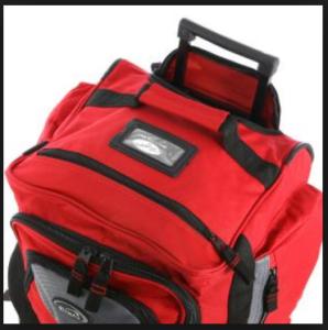 Olympia Luggage 26 8 Pocket Rolling Duffel Bag7