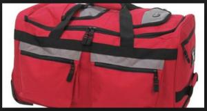 Olympia Luggage 26 8 Pocket Rolling Duffel Bag8