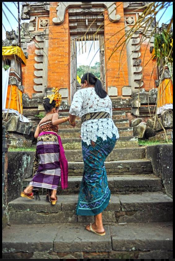 Bali Moments you'll never walk alone